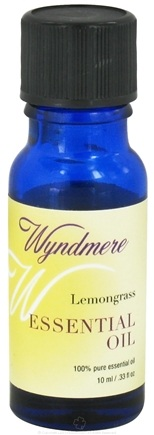 DROPPED: Wyndmere Naturals - Essential Oil Lemongrass - 0.33 oz.