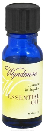 DROPPED: Wyndmere Naturals - Essential Oil Jasmine in Jojoba - 0.33 oz.