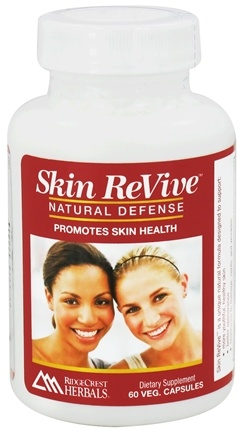 DROPPED: Ridgecrest Herbals - Skin ReVive Natural Defense - 60 Vegetarian Capsules CLEARANCE PRICED