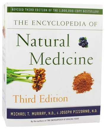 DROPPED: Atria Paperback - The Encyclopedia Of Natural Medicine Third Edition - CLEARANCE PRICED