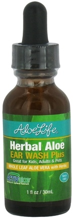 DROPPED: Aloe Life - Herbal Aloe Ear Wash Plus - 1 oz. CLEARANCE PRICED
