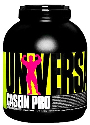 DROPPED: Universal Nutrition - Casein Pro Sustained Release Protein Vanilla Soft Serve - 4 lbs.