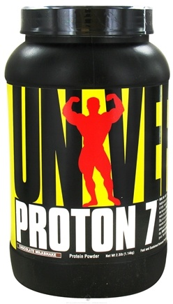 DROPPED: Universal Nutrition - Proton 7 Premium Protein Powder Chocolate Milkshake - 2.5 lbs. CLEARANCE PRICED