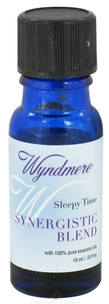 DROPPED: Wyndmere Naturals - Synergistic Blend Sleepy Time - 0.33 oz.