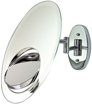 DROPPED: Zadro - Tri-Optics Wall Mirror OVW5 Chrome