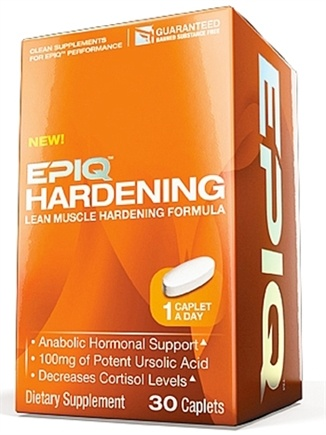 DROPPED: EPIQ - Hardening Lean Muscle Formula - 30 Caplets