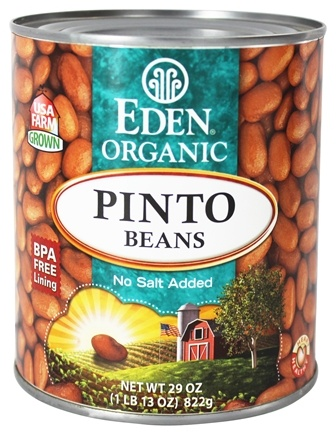DROPPED: Eden Foods - Organic Pinto Beans - 29 oz.