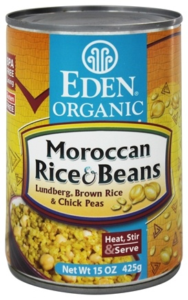 DROPPED: Eden Foods - Organic Moroccan Rice and Beans - 15 oz.