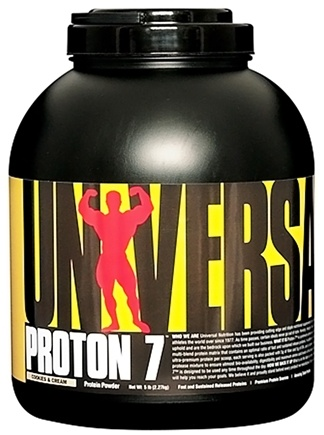 DROPPED: Universal Nutrition - Proton 7 Premium Protein Powder Cookies & Cream - 5 lbs. CLEARANCE PRICED