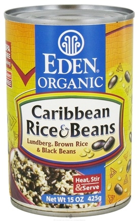DROPPED: Eden Foods - Organic Caribbean Rice and Beans - 15 oz. CLEARANCE PRICED