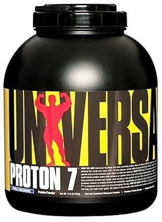 DROPPED: Universal Nutrition - Proton 7 Premium Protein Powder Vanilla Milkshake - 5 lbs. CLEARANCE PRICED