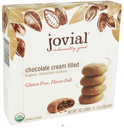 DROPPED: Jovial Foods - Organic Cookies Lemon Cream Filled - 7 oz. CLEARANCE PRICED