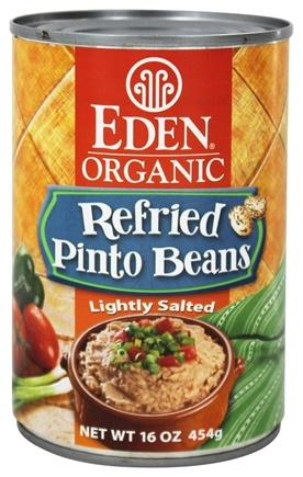 Eden Foods - Organic Refried Pinto Beans - 15 oz.