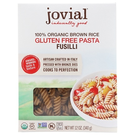 Zoom View - Organic Gluten Free Fusilli Brown Rice Pasta