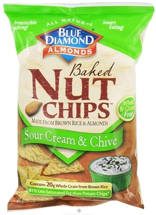 DROPPED: Blue Diamond Growers - Baked Nut Chips Sour Cream & Chive - 4.25 oz.