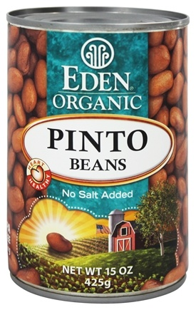 DROPPED: Eden Foods - Organic Pinto Beans - 15 oz.