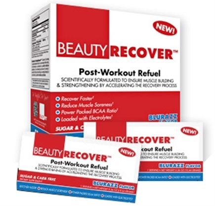 DROPPED: BeautyFit - BeautyRecover Post-Workout ReFuel BluRazz - 25 Packet(s) CLEARANCE PRICED