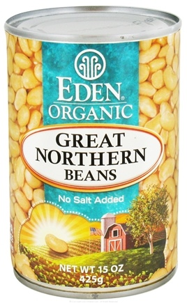 DROPPED: Eden Foods - Organic Great Northern Beans - 15 oz.