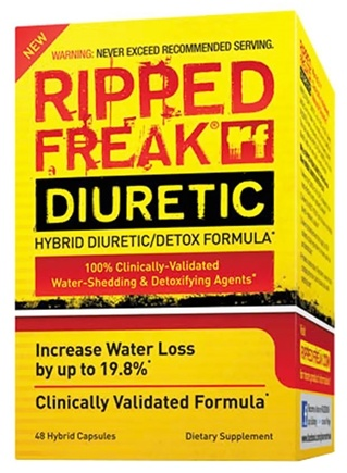 Zoom View - Ripped Freak Hybrid Diuretic/Detox Formula