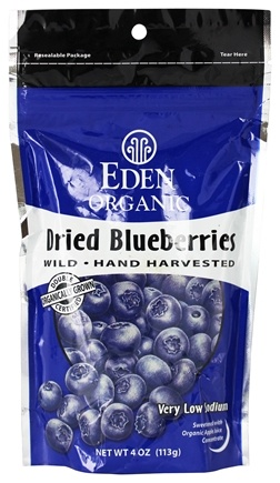 DROPPED: Eden Foods - Organic Dried Blueberries - 4 oz.