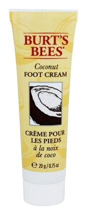 DROPPED: Burt's Bees - Foot Cream with Vitamin E Coconut - 0.75 oz. Travel Size Mini