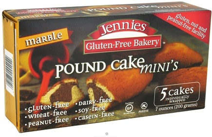 DROPPED: Jennies - Pound Cake Mini's Marble - 7 oz. CLEARANCE PRICED