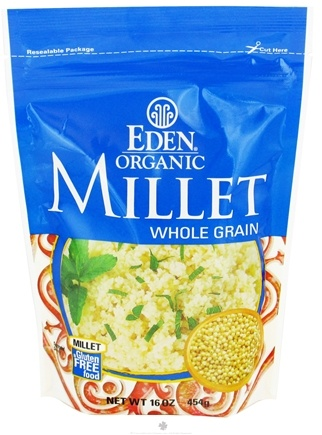 Zoom View - Organic Millet Whole Grain