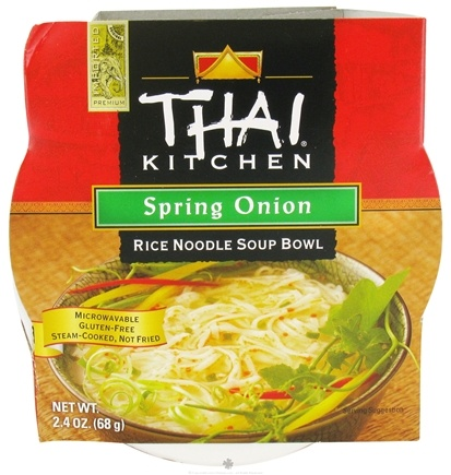 DROPPED: Thai Kitchen - Rice Noodle Soup Bowl Spring Onion - 2.4 oz. CLEARANCE