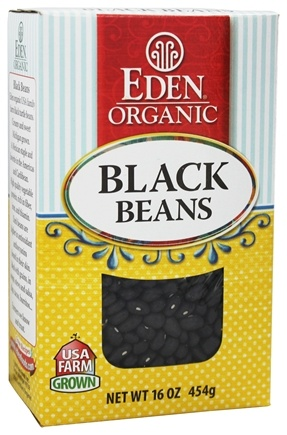 Zoom View - Organic Dry Black Beans