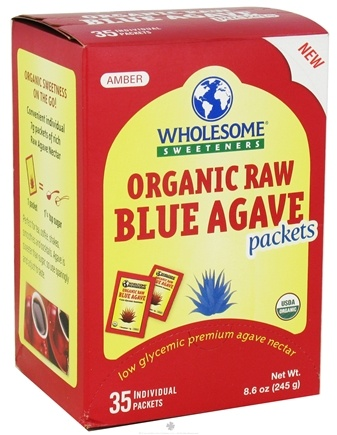 DROPPED: Wholesome Sweeteners - Organic Raw Blue Agave - 35 Packet(s)