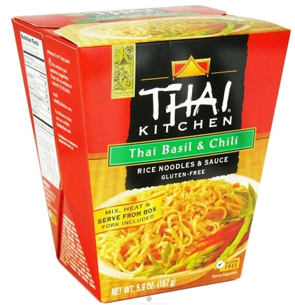 DROPPED: Thai Kitchen - Rice Noodles & Sauce Thai Basil & Chili - 5.9 oz. CLEARANCE