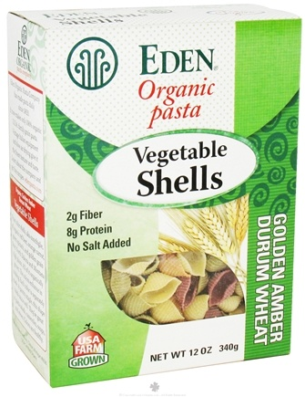 Zoom View - Organic Pasta Vegetable Shells
