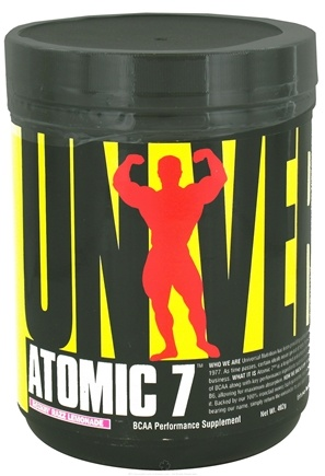 DROPPED: Universal Nutrition - Atomic 7 BCAA Performance Rockin' Razz Lemonade 30 Servings - 402 Grams CLEARANCE PRICED