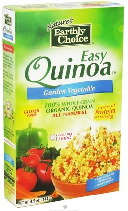 DROPPED: Nature's Earthly Choice - Easy Quinoa Garden Vegetable - 4.9 oz.