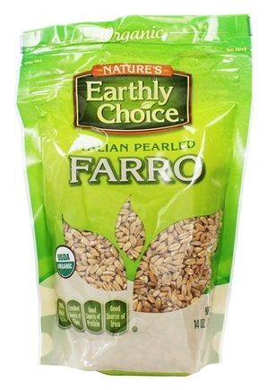 Nature's Earthly Choice - Organic Italian Pearled Farro - 12 oz.