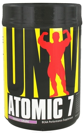 DROPPED: Universal Nutrition - Atomic 7 BCAA Powder Performance Groovy Grape 73 Servings - 1 kg. CLEARANCE PRICED