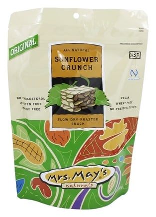 DROPPED: Mrs. May's Naturals - Slow Dry-Roasted Snack Sunflower Crunch - 5 oz.