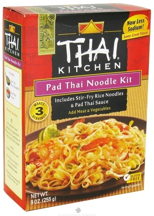 Thai Kitchen Pad Thai buy thai kitchen - noodle kit pad thai - 9 oz. at luckyvitamin
