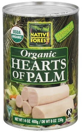 DROPPED: Native Forest - Hearts Of Palm Organic - 14 oz. CLEARANCE PRICED