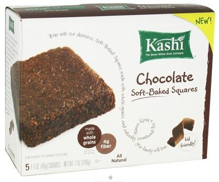 DROPPED: Kashi - Soft Baked Squares Chocolate - 7 oz.
