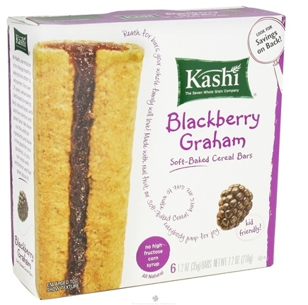 DROPPED: Kashi - Soft Baked Cereal Bars Blackberry Graham - 7.2 oz.