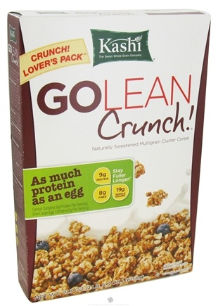 DROPPED: Kashi - GoLean Crunch Multigrain Cluster Cereal - 21.3 oz.