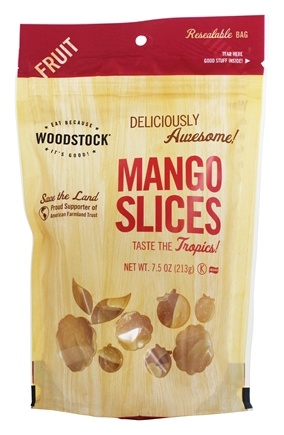 DROPPED: Woodstock Farms - All-Natural Mango Slices - 7.5 oz.