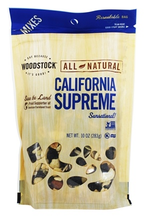 DROPPED: Woodstock Farms - All-Natural California Supreme Mix - 10 oz.