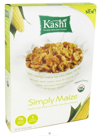 DROPPED: Kashi - Organic Cereal Simply Maize - 10.5 oz.