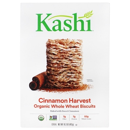 DROPPED: Kashi - Organic Cereal Cinnamon Harvest - 16.3 oz. CLEARANCE PRICED