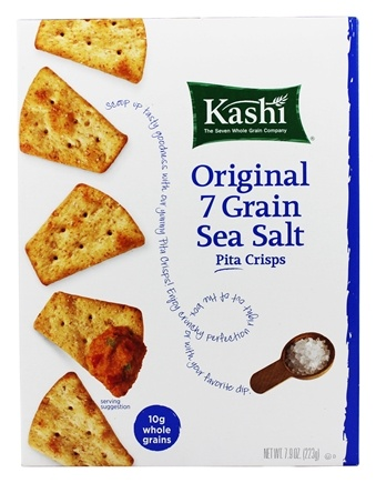 Zoom View - Original 7 Grain Sea Salt Pita Crisps