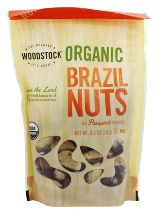 Woodstock Farms - Organic Brazil Nuts - 8.5 oz.