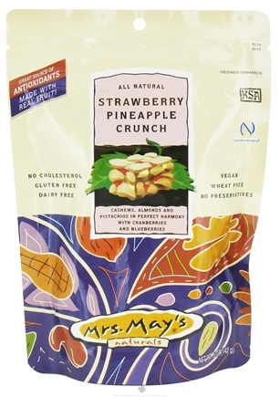 DROPPED: Mrs. May's Naturals - Slow Dry-Roasted Snack Strawberry Pineapple Crunch - 5 oz.