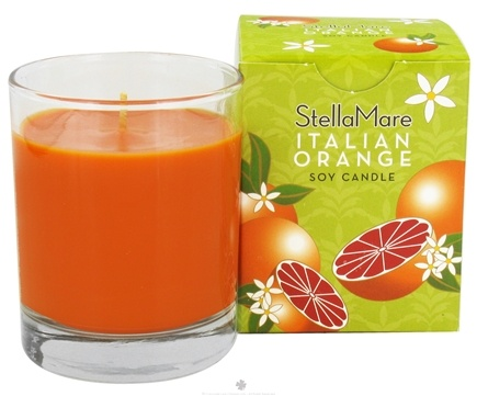 DROPPED: Stella Mare - Soy Candle Italian Orange - 5 oz.